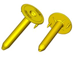 Кровельный телескопический держатель KTD с шипами (РР) (РА