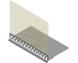Профиль-капельник с сеткой (2.5м)