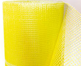 Сетка стеклотканевая фасадная BAU-FIX 1500, 5x5mm, 145 гр.м2